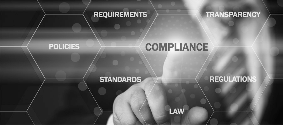 Compliance policies and standard requirements