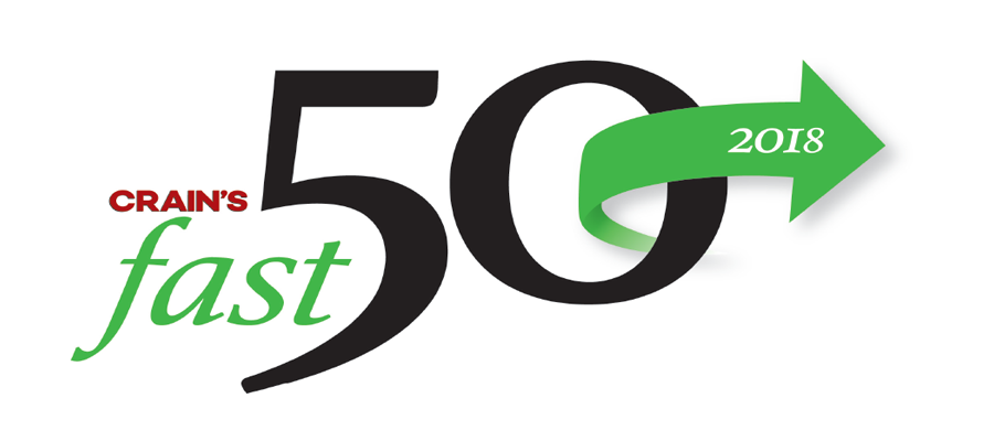 Crain's Fast 50 for 2018