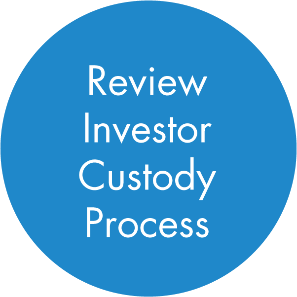 Review Investor Custody Process